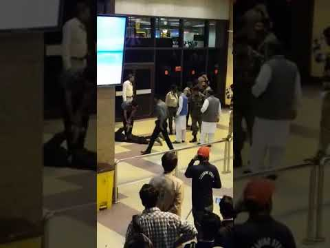 Karachi Airport bike incident