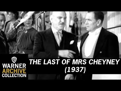 The Last of Mrs Cheyney 1937 (Preview Clip)