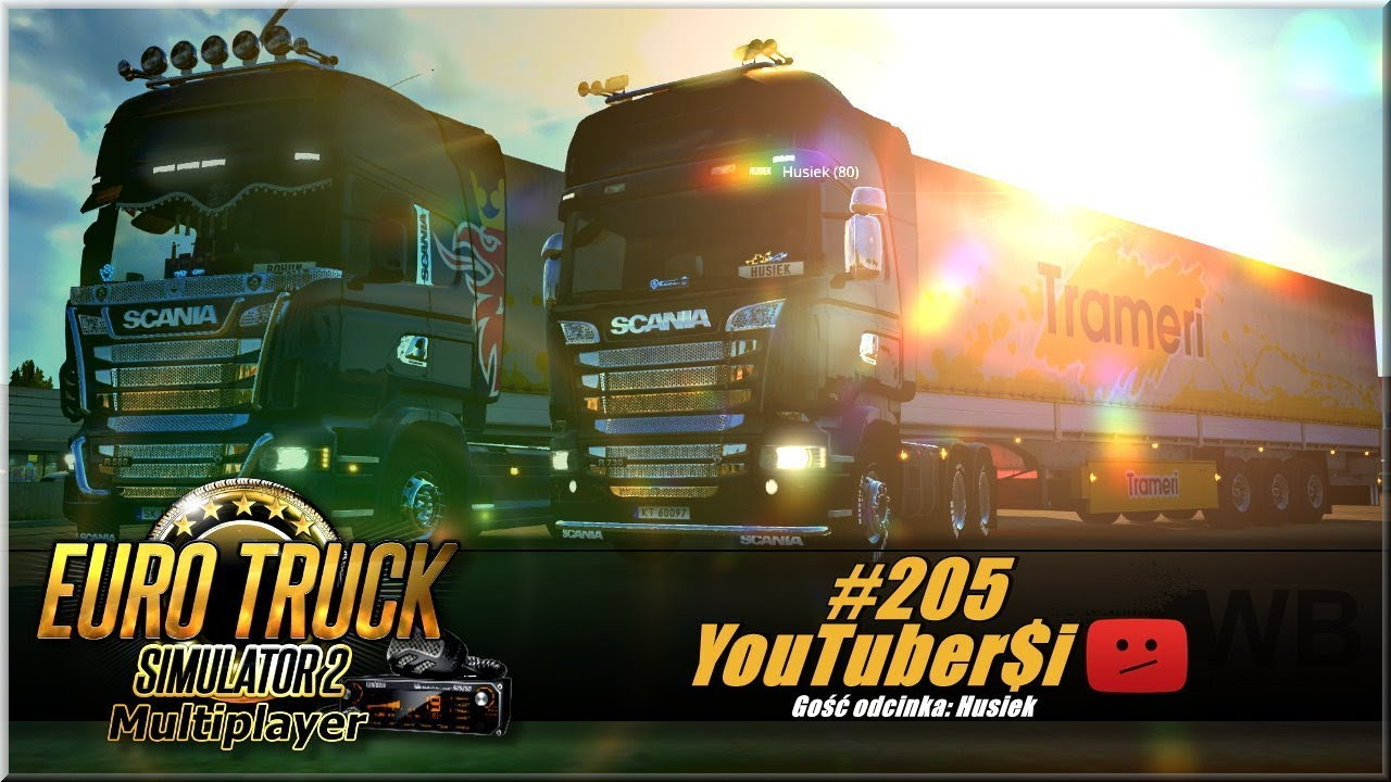 "Euro Truck Simulator 2 – #205 ""YouTuber$i"""