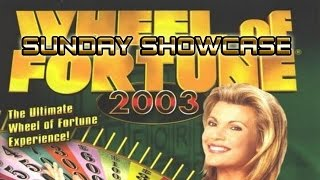 "Wheel of Fortune 2003[PC] - Sunday Showcase ""Not Spinning on Fortune!"""