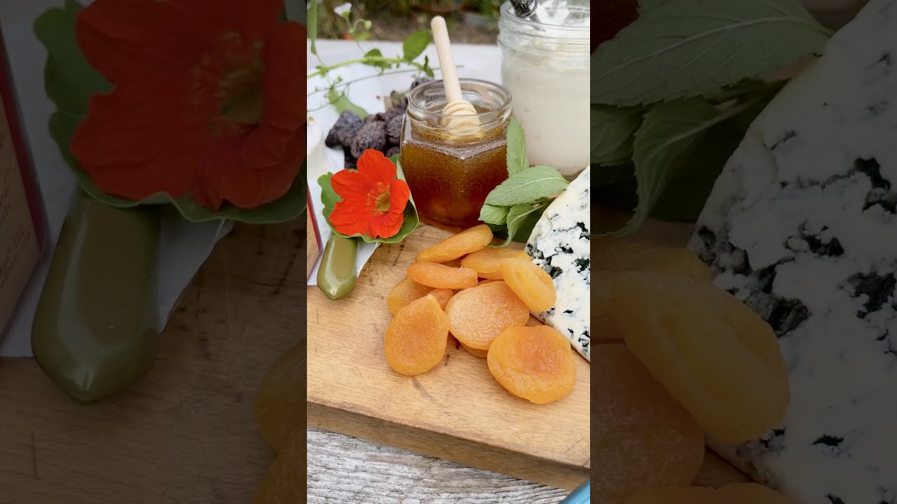 Creating a Honey and Cheese Board with Chef Marc J. Sievers