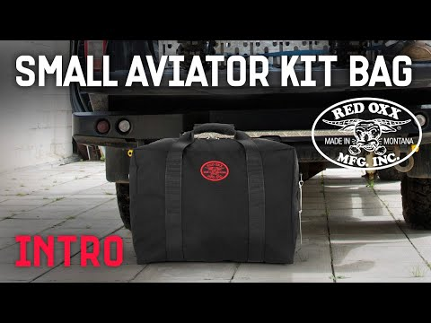 Red Oxx Small Aviator Kit Bag Introduction Video Demo