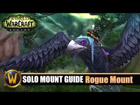 Telars Solo Mount Guide #58 Schurke Class Mount (7.2.5)