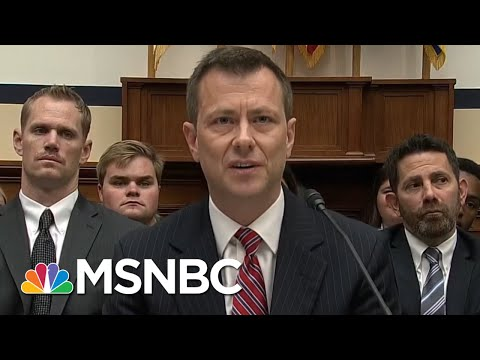 Peter Strzok Holds His Own As Republicans Try To Put On Show At Hearing | Rachel Maddow | MSNBC