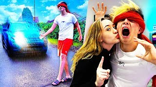 BLINDFOLDED By My GIRLFRIEND For 24 HOURS!! (Challenge)