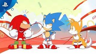 Sonic Mania - Digital Launch Trailer | PS4