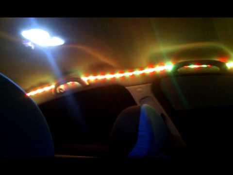 peugeot luces led interior