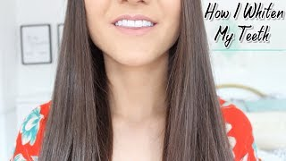 How To Whiten Your Teeth AT HOME & KEEP Them White !!