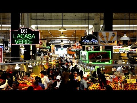 A Walk Around The Grand Central Market, Downtown Los Angeles