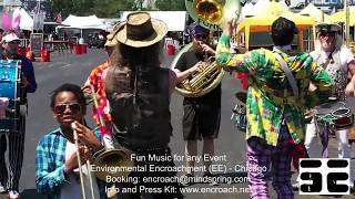 Environmental Encroachment Band Promotional Video EE Chicago Brass Music, Marching Parade for hire