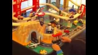 Kidkraft Train Table Metropolis Set And Kidkraft Dollhouse Best Buy Match To Any Play Area!