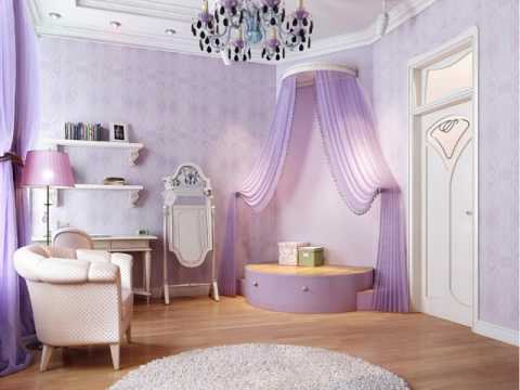 Etonnant Little Girls Purple Bedroom Ideas