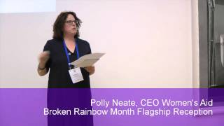 Broken Rainbow Month - Flagship Reception - Polly Neate