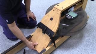 How to assemble tнe WaterRower Indoor Rowing Machine