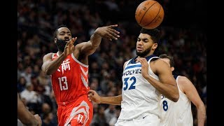 James Harden's Top Assists From 2018-19 Season   NBA's Best Passer?