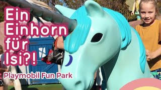 Spaß im PLAYMOBIL FUNPARK 😍 Was KAUFT Isi im PLAYMOBIL Shop? 🛒 🎁 Kleine Familienwelt Family Vlog