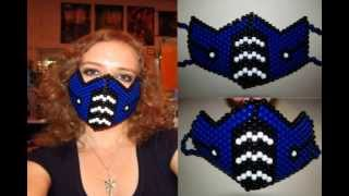 Mortal Kombat Masks-Beaded + Gas Masks