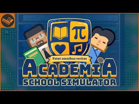 BUILDING A SCHOOL | Academia: School Simulator
