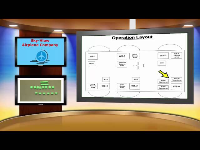 DEMO – Airplane Assembly (Operation Layout) - M02S07