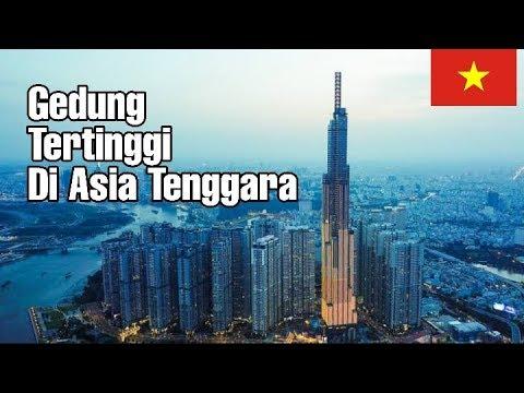 Gedung Tertinggi Di Asia Tenggara   Vincom Landmark 81 Vietnam (461 M)