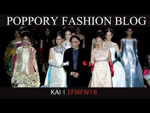 KAI | ELLE FASHION WEEK FW2018 | VDO BY POPPORY