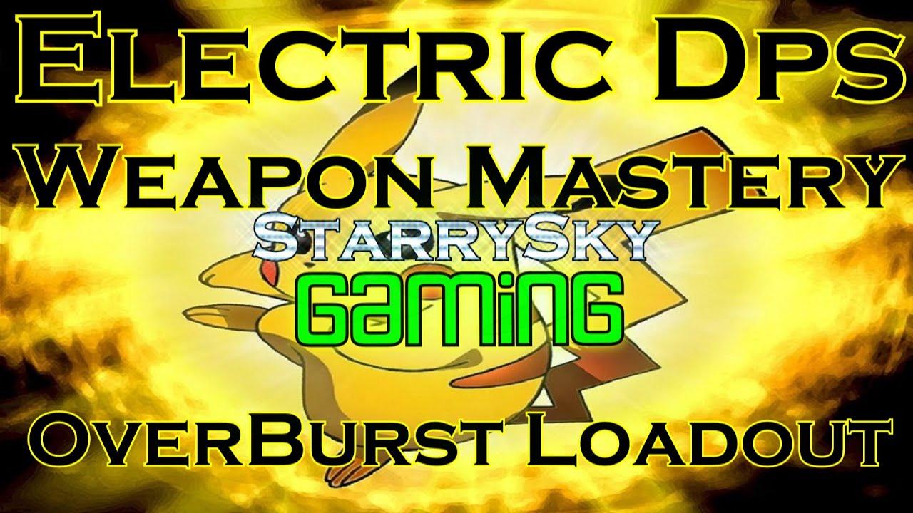dcuo electric dps l the overburst loadout l build l rotation youtube