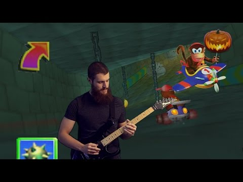 Haunted Woods (Diddy Kong Racing) | Metal Guitar Cover mp3