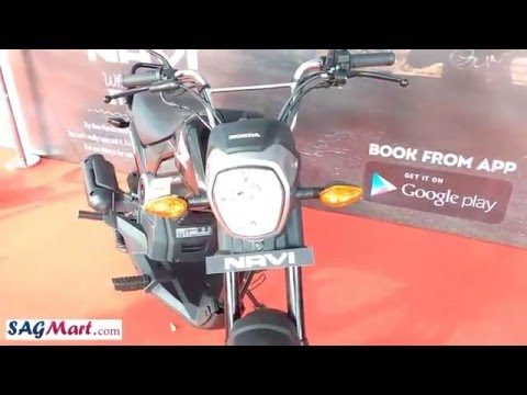2016 Honda Navi Bike Walk Around Video and Reviews