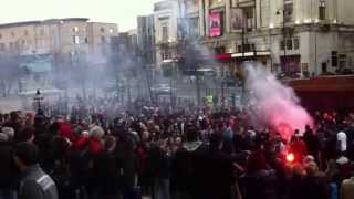 Thatcher's Funeral Celebrations Liverpool