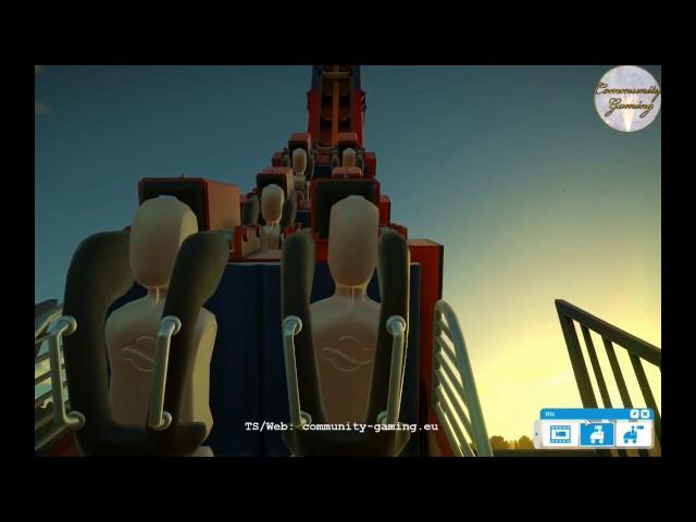 Let's Play Planet-Coaster | Neue Achterbahn | Folge #003