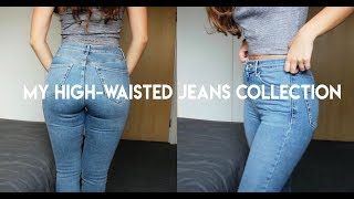 My High-Waisted JEANS COLLECTION // Topshop, Urban Outfitters, River Island ..