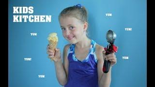 EASY HOMEMADE ICECREAM | Kids Kitchen