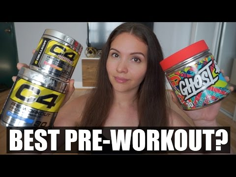 Best Pre Workout? | C4 vs Ghost Supplement Review