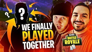 WE FINALLY PLAYED TOGETHER AFTER 3 YEAR! - FUNNIEST TRIO EVER! (Fortnite: Battle Royale)