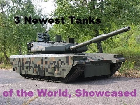 3 Newest Tanks showcased at latest Exhibitions: T-90MS Proryv-3, PT-16, & Griffin.