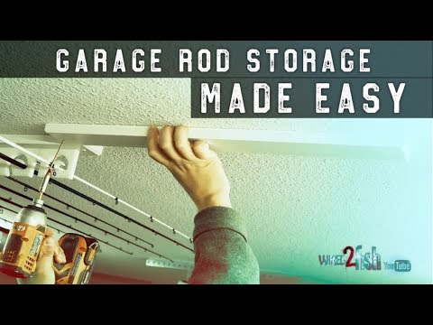 How to Store Fishing Rods [Protect and Save Space]
