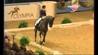 Anna Ross Davies & Pegasus MK Grand Prix Kur 70,350% FEI WORLD CUP DRESSAGE 2010 London Olympia