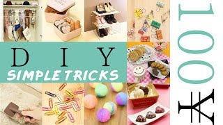 9 Useful 100Yen Simple Tricks!100均グッズでできる!100円ショップの商品を使って!超簡単DIY&裏ワザ9選