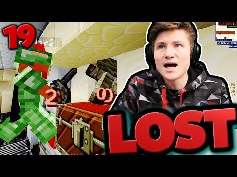 Minecraft LOST #19 | Sie kommen durch die WÄNDE..😧 | Dner