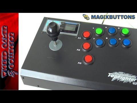TOP Fighter QJ - Arcade Joystick / Super Nintendo Review