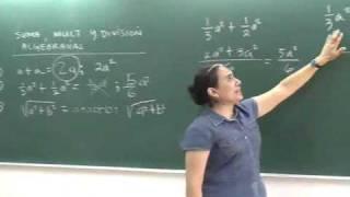 Repaso de algebra (parte 1: Suma y Resta)