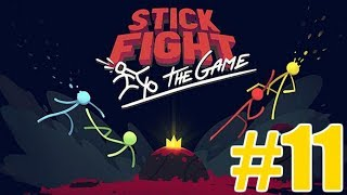 The FGN Crew Plays: Stick Fight the Game #11 - Shotgun Camper