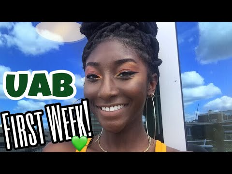 UAB COLLEGE VLOG #1 | FIRST WEEK OF CLASSES