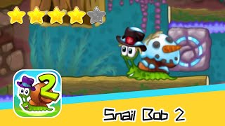Snail Bob 2 Island Story 12-13 Walkthrough Play levels and build areas! Recommend index four stars