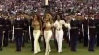Dallas Cowboys Cheerleaders Halftime Performance With