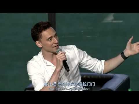 【Nerd HQ】Tom Hiddleston參加場次 中英字幕