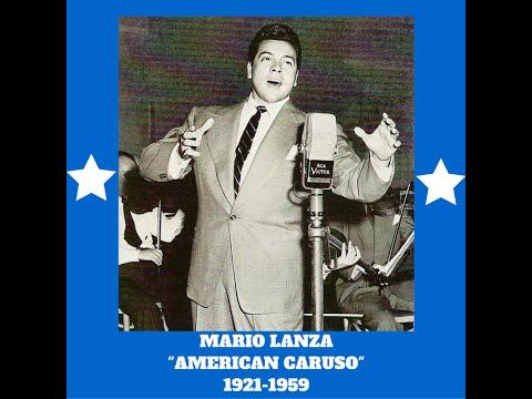 Mario Lanza Tenor HIGH C La Boheme Che gelida manina LIVE!!! 1952