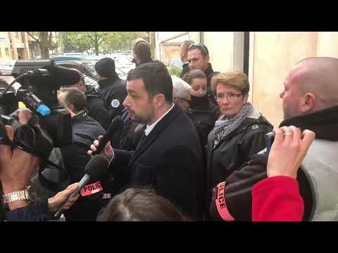 """Un certain visage déplorable des """"Gilets Jaunes"""" devant la permanence d'Adrien MORENAS"""
