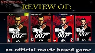 Movies to Video Games Review - James Bond 007 - From Russia With Love (PS2/Xbox/GC/PSP)
