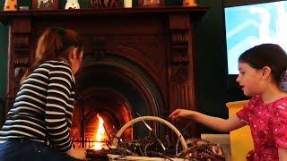 Rozpalamy kominek w czerwcu *lato w Szkocji*